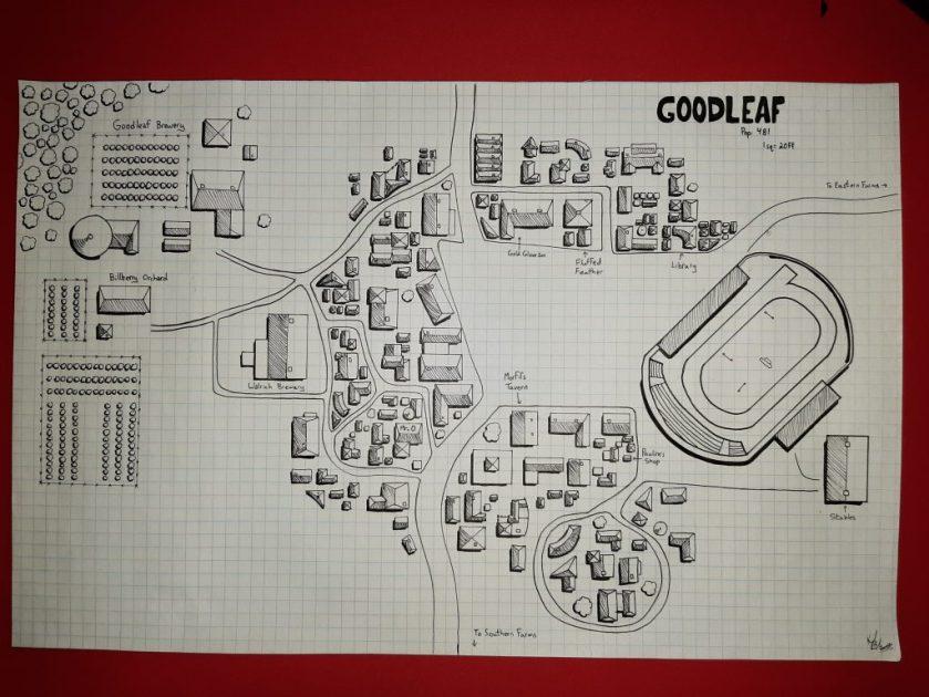 Map of Goodleaf