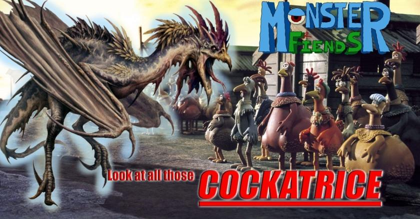 Cockatrice- Monster Friends