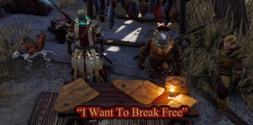 I want to break free - Original Sinners